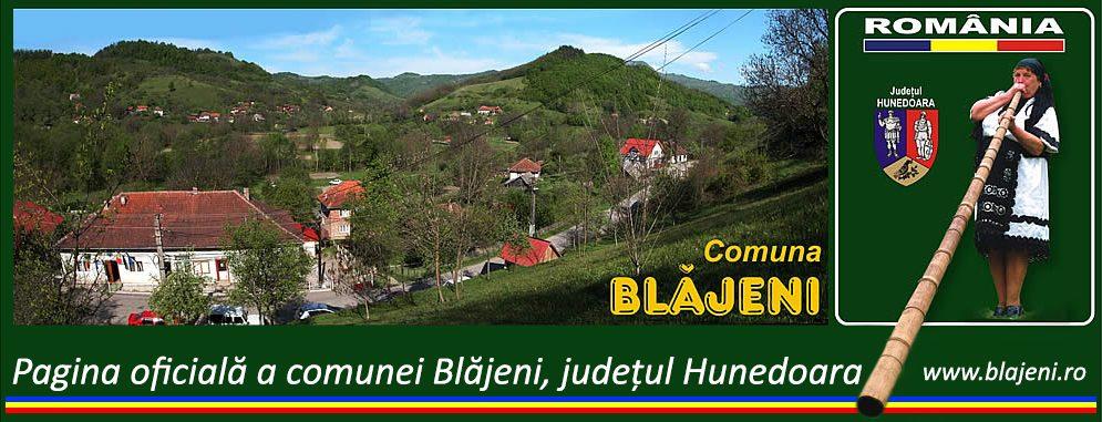 Primaria comunei Blajeni, judetul Hunedoara